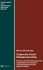 Corporate Social Entrepreneurship